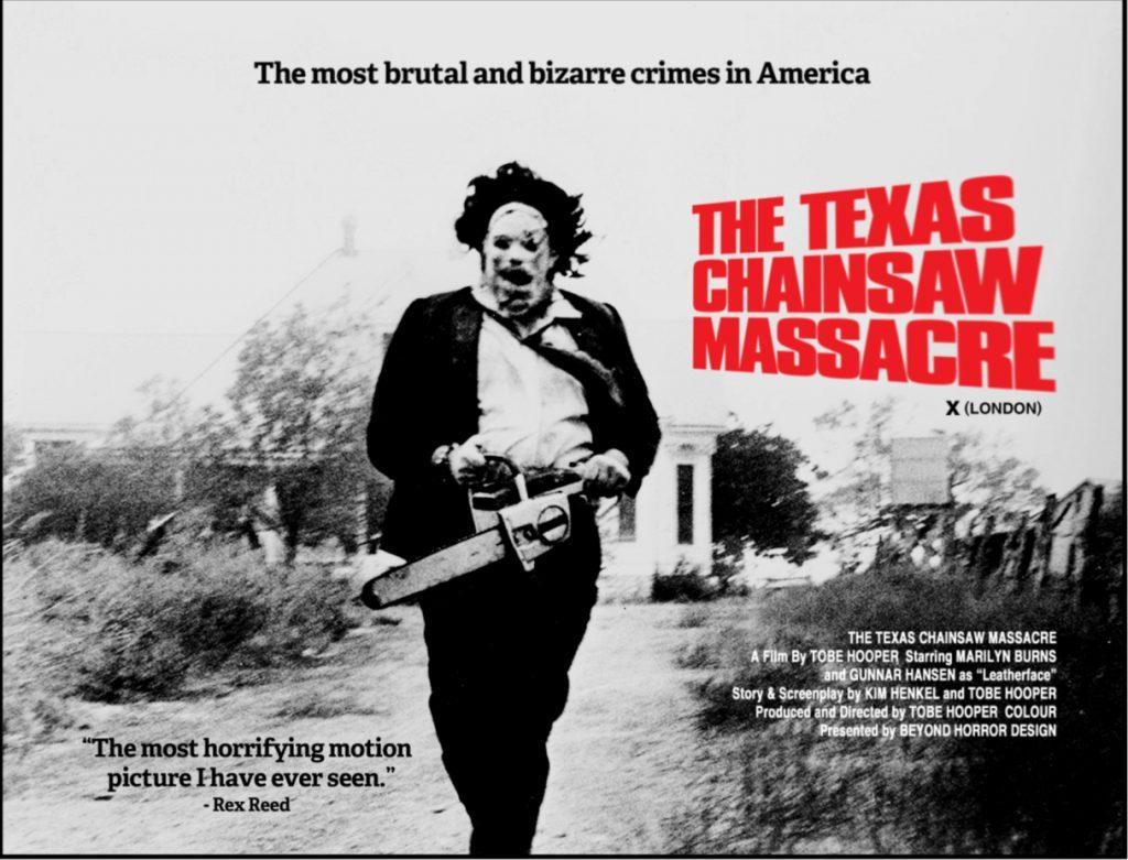 La Matanza de Texas y Caracuero y su motosierra.