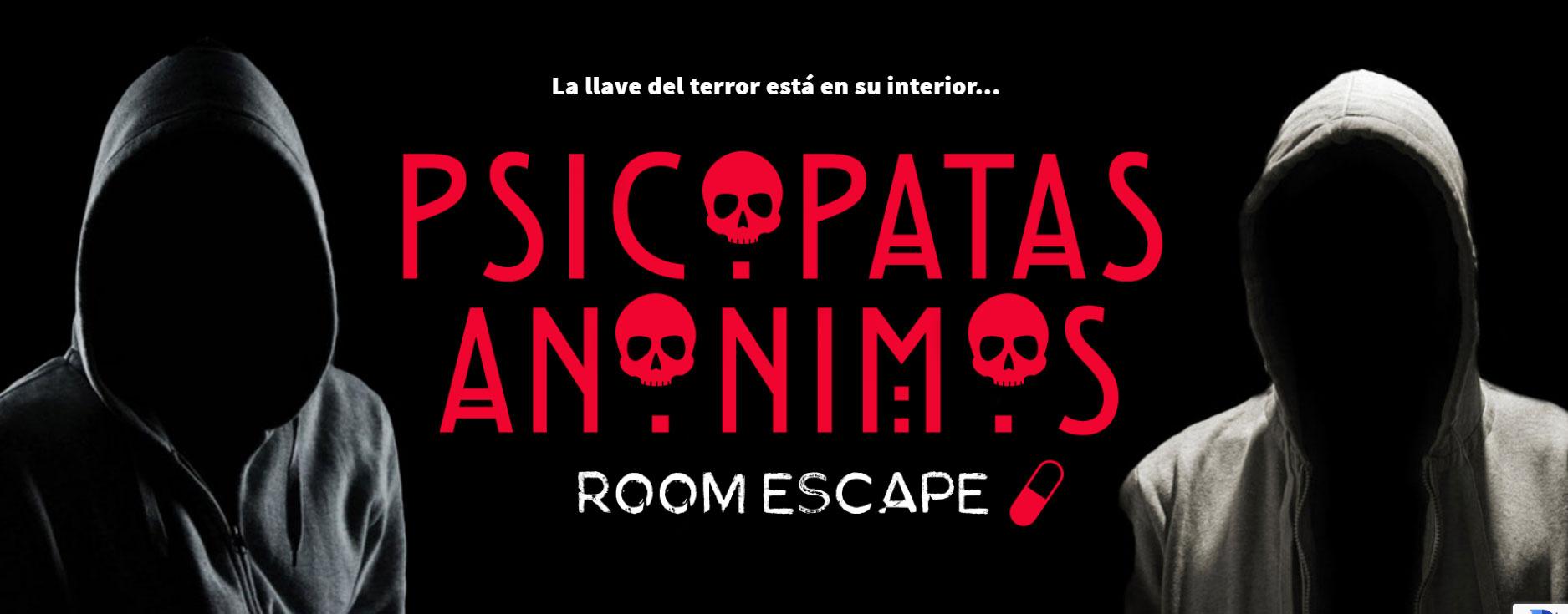 psicopatas anonimos escape room